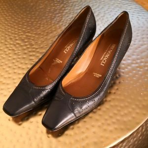 Bruno Magli Leather Pumps
